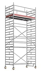 Uni LAYHER Mobile Scaffolding Wide Height: 7.5 m