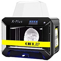 QIDI TECH 3D Printer, Large Size X-Plus Intelligent Industrial Grade 3D Printing with Nylon, Carbon Fiber, PC, High Precision Printing 10.6x7.9x7.9 Inch