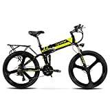 Cyrusher XF700 Electric Bike 400 Watt 21 Speeds Mountain Electric Bike with 36V 10.4ah Battery Folding Bike
