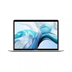 Apple MacBook Air (13-inch, 8GB RAM, 256GB SSD Storage) - Silver (Latest Model)