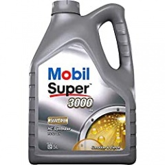 Mobil 1 150565 Super 3000 X1 5W-40 Low-Viscosity Engine Oil 5 Litre