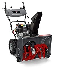 Briggs & Stratton 1024 Standard Series 24-Inch Dual-Stage Snow Blower with Push Button Electric Start and Dash Mounted Chute Rotation