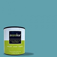 RECOLOR Paint 100% Recycled Interior Latex Paint Wall Finish, 1 Gallon, Interior - Wave
