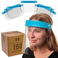 Salon World Safety 160 Face Shields